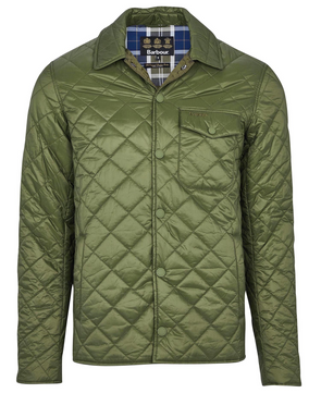 Barbour Tember Quilt Jacket in Rifle Green
