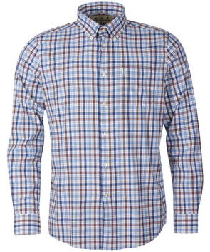 Barbour Hallhill Performance Shirt in Stone