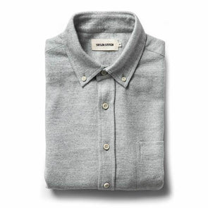 Brushed Heather Grey LS Shirt - JOURNEYMAN CO.