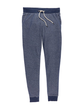 Faherty Forever Jogger in Navy Melange