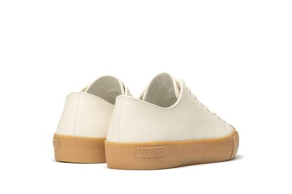 SeaVees Wilder Leather Sneaker in White