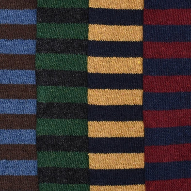 Rugby Stripe Sock - JOURNEYMAN CO.