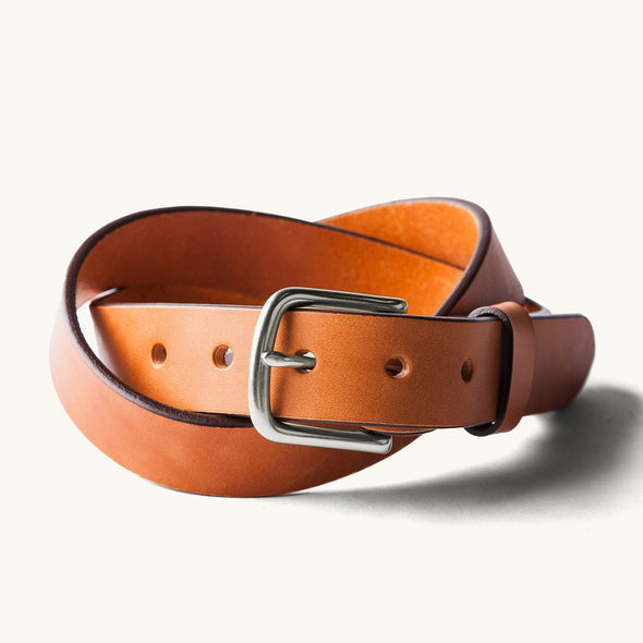 Tanner Goods Classic Belt in Saddle Tan