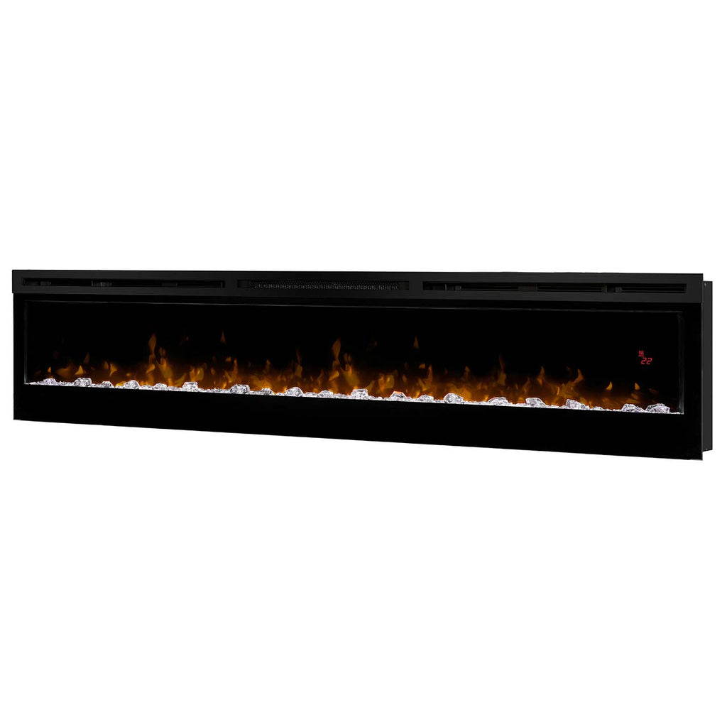 "Prism Series 74"" Linear Electric Fireplace"