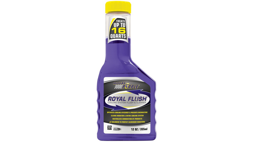 Royal Purple Clean and Flush Cooling System Treatment - 12 oz