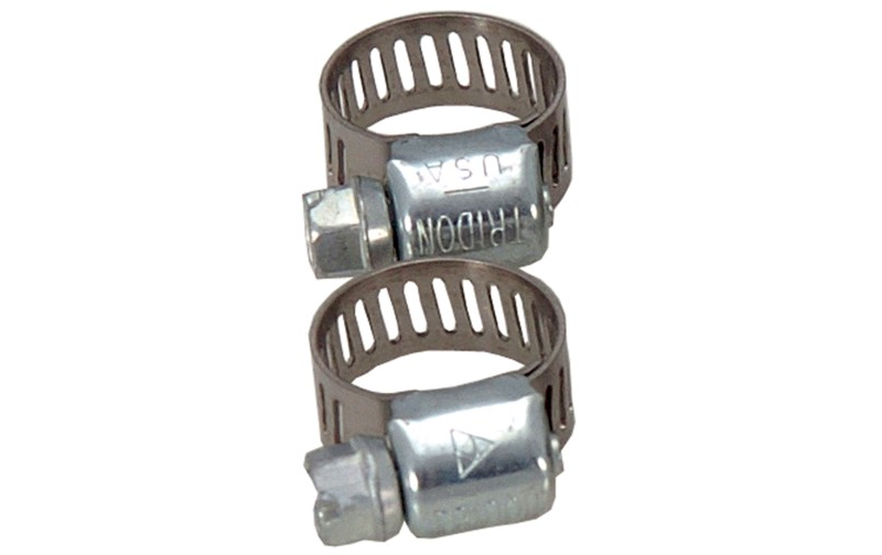 "Worm Drive Hose Clamp  7/8""-1 1/8"" (pack of 2ea)"