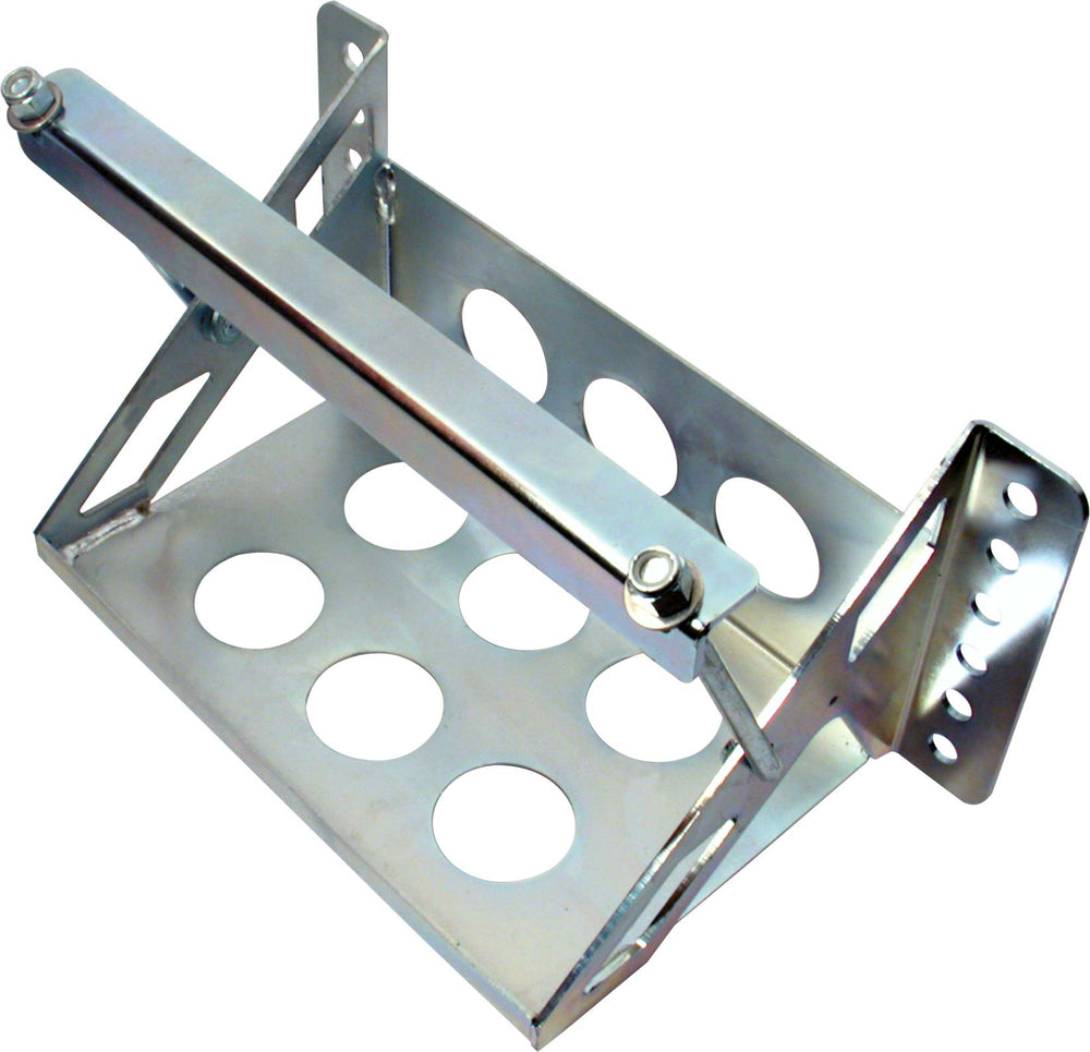 All Star Performance Zinc Plated Frame Mount Battery Tray