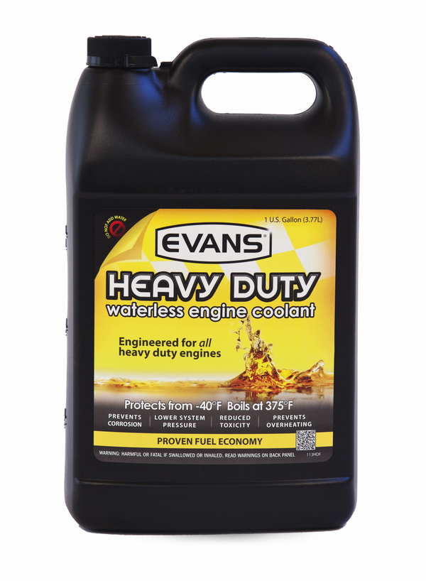 Waterless Heavy Duty Engine Coolant Gallon Evans Cooling.