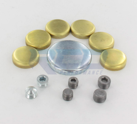 Elgin 1968 - 1997 7.0L & 7.5L 429 / 460 Brass Frost (Freeze) Plug Kit