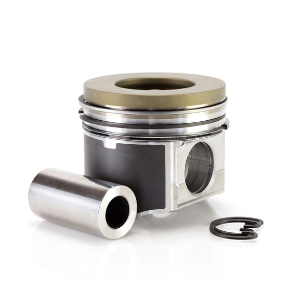 Mahle 6.0L Ford Power Stroke Ceramic Coated Single Piston Kit With Rings