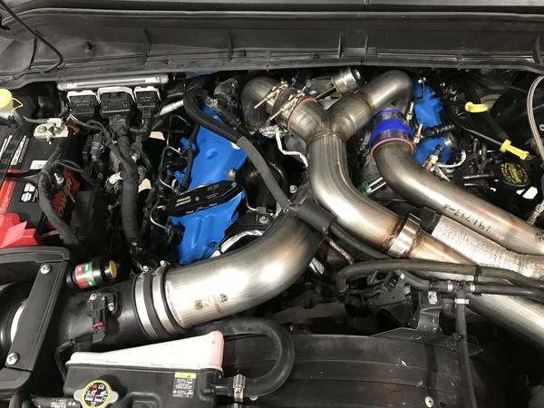 6.7L Ford Power Stroke T4 Single Turbo Kit