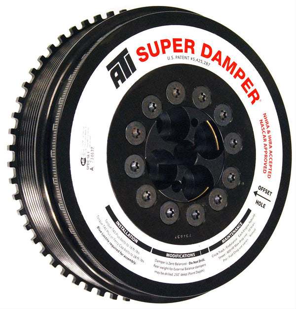 ATI Super Damper 6.7L CR 07.5 - 2019 Cummins SFI