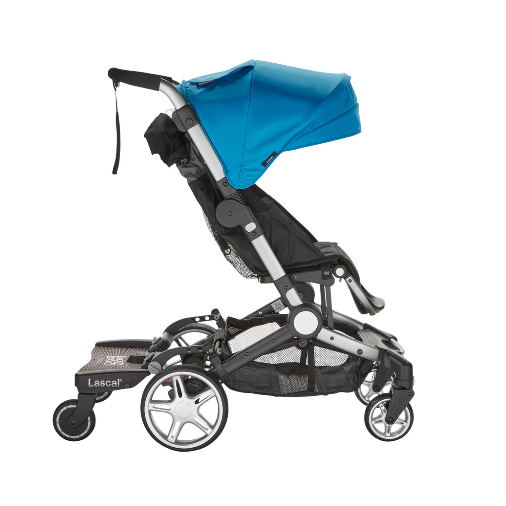 lascal buggyboard maxi works on the coast stroller, chit chat stroller and caravan stroller wagon