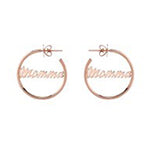 "Mother's Day Gift Guide and Gift Ideas: Jennifer Fisher ""Momma"" Hoop Earrings"