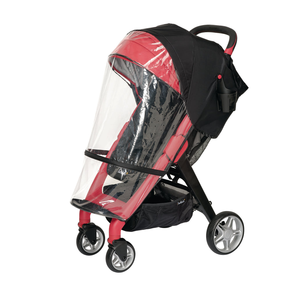 rain canopy. keep baby dry in stroller. strolling in the rain. wind blocker stroller. rain canopy attached to the chit chat stroller