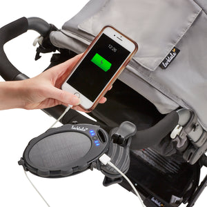 solar charger, solar panel, phone charger, solar panel phone charger. eco-friendly tech. charge your phone on the go. phone battery charger, stroller accessories,