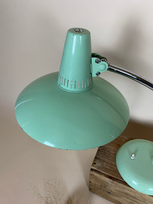 Grøn Christian Dell bordlampe model 6753