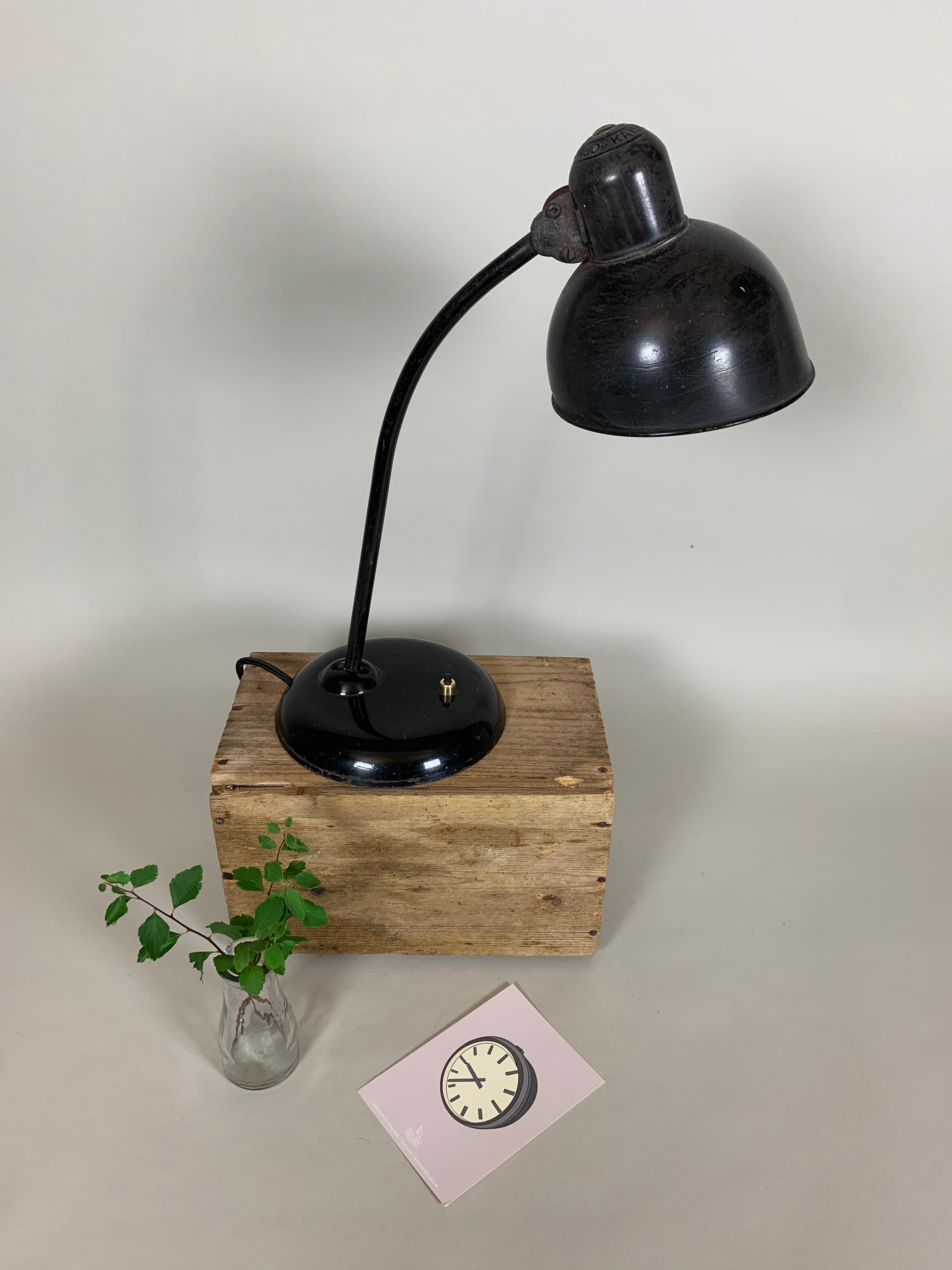 Sort Kaiser Idell bordlampe 6556