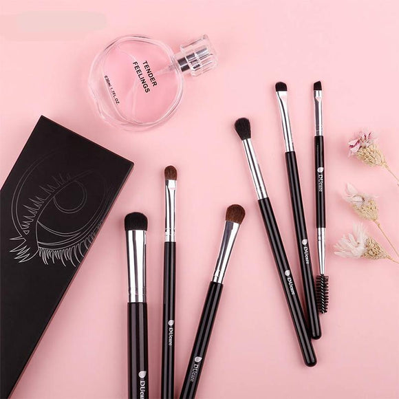 6 Pc Eye Shadow Brush Blending Kit - The Beauty Brush