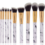 10 Piece Makeup Brushes Set - The Beauty Brush