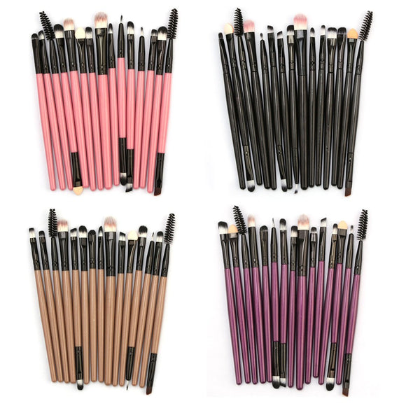15pcs Makeup Brush Set - The Beauty Brush