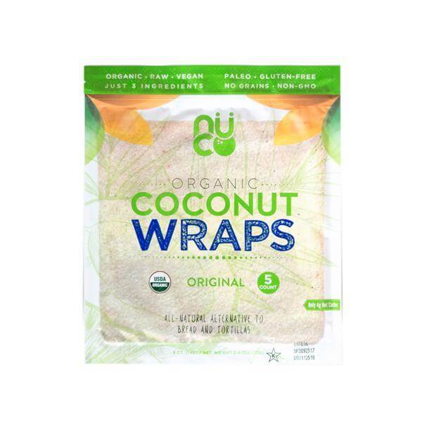 NUCO Organic Coconut Wraps (Original)