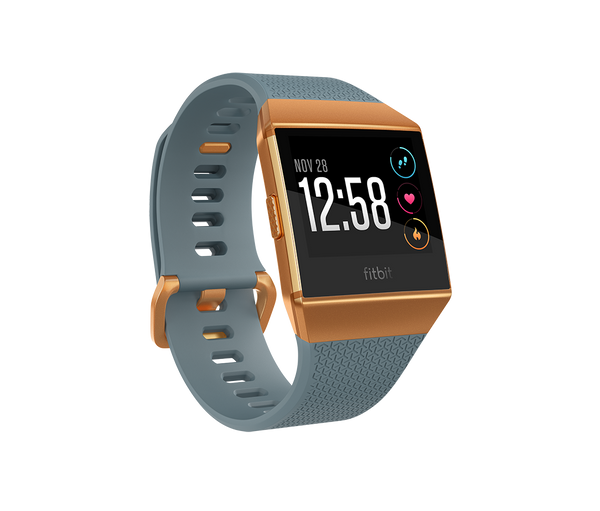 Fitbit Ionic - Slate Blue / Burnt Orange - fitbit.com.pk - Fitbit Pakistan