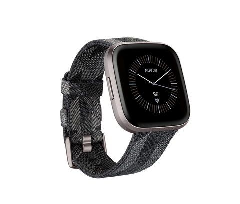 Fitbit Versa 2 Special Edition - Smoke Woven / Mist Grey Aluminum