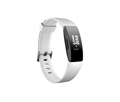 Fitbit Inspire HR - White / Black