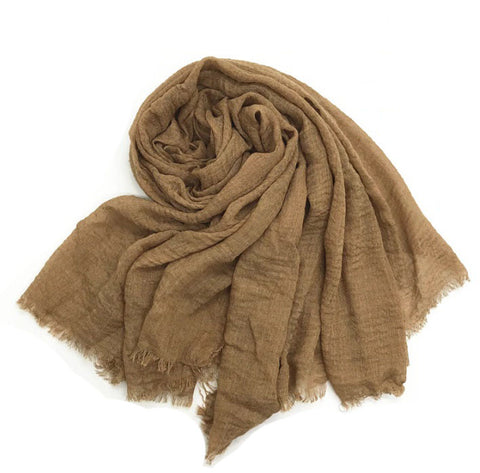 Neive Scarf in Coffee