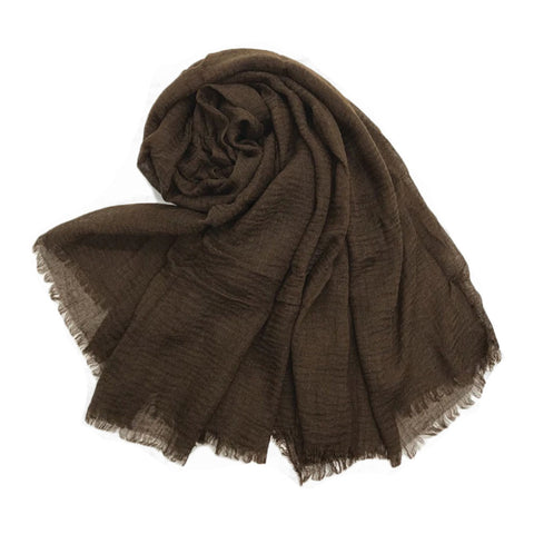 Neive Scarf in Chocolate