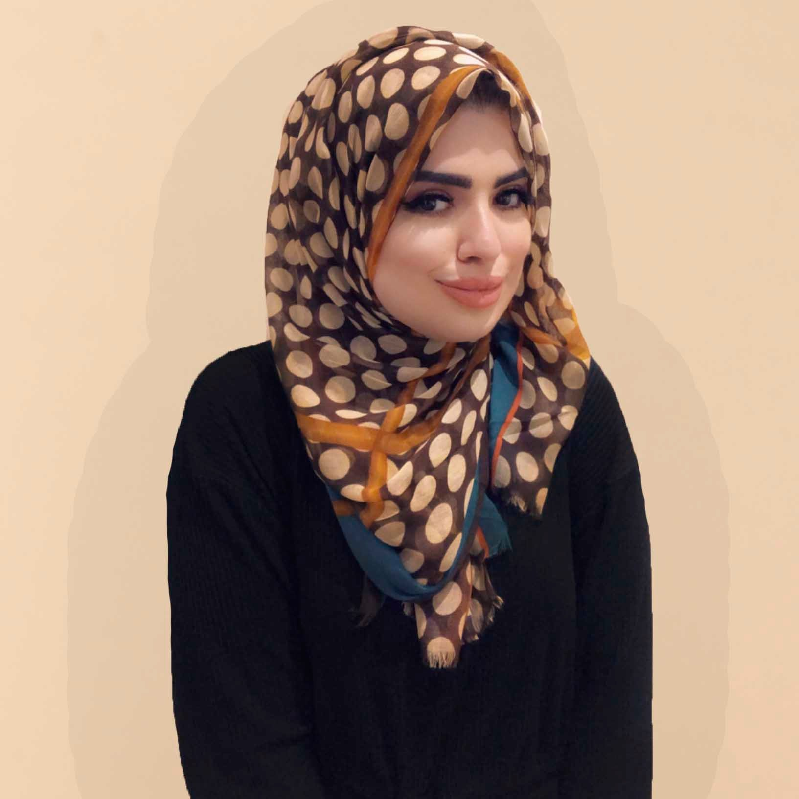 Mehadi Scarf in Brown