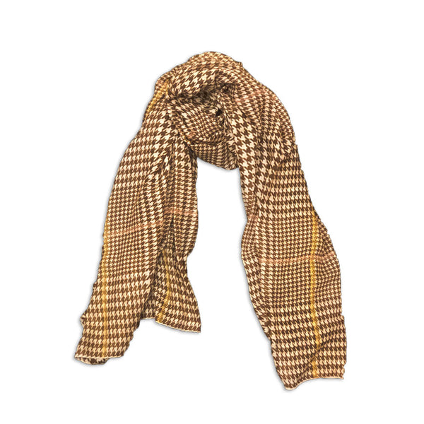 Naples Scarf in Brown