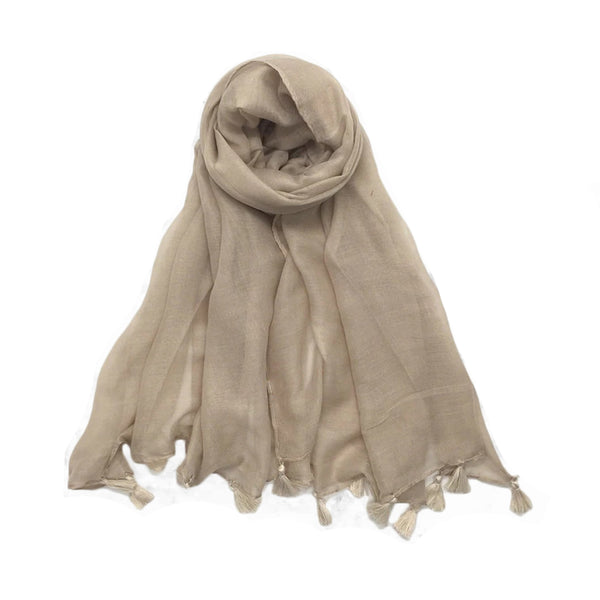 Xenia Scarf in Natural