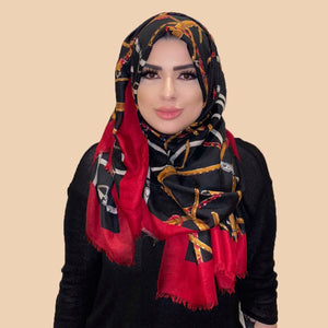 Rashaya Scarf in Black