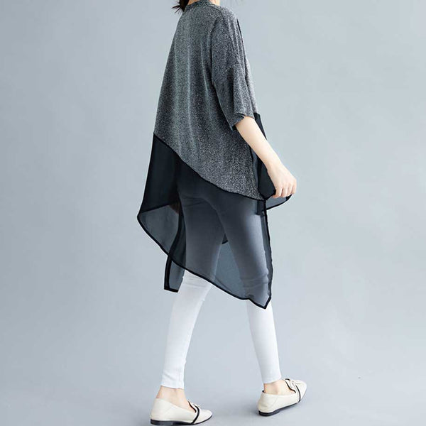 Montreal Oversized Assymetrical Blouse