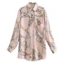 Load image into Gallery viewer, Etienne Print Blouse