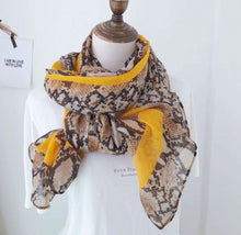 Load image into Gallery viewer, Venice Scarf in Mustard