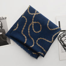 Load image into Gallery viewer, Tanzanite Scarf in Navy