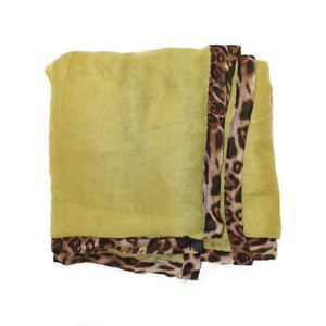 Aimatia Scarf in Chartreuse
