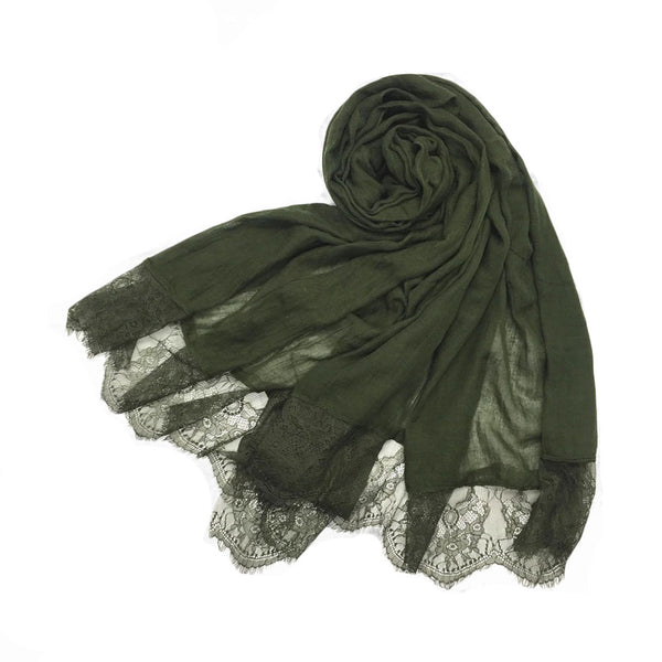 London Scarf in Khaki