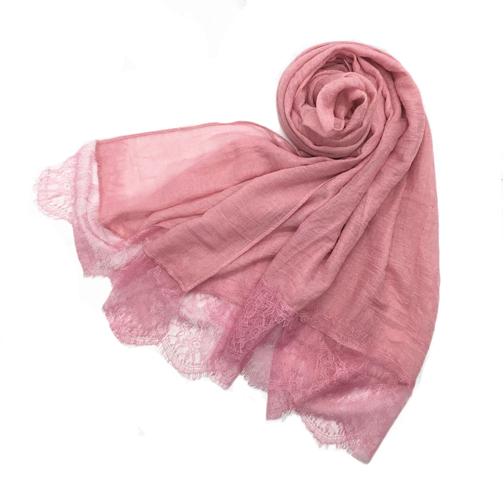 London Scarf in Pink
