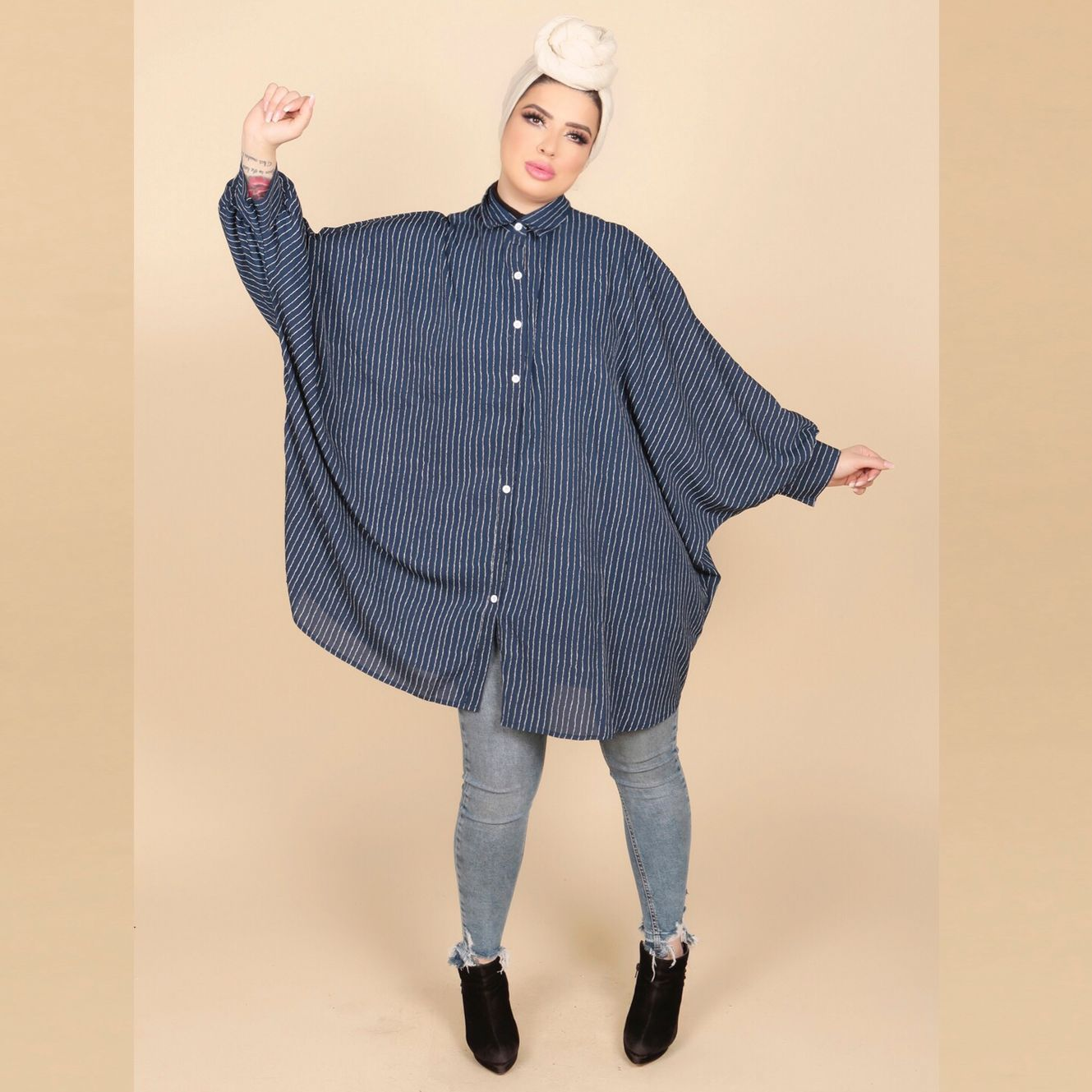 Masadam Oversized Blouse