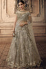 Ash Gray Net Lehenga Set