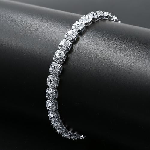 6mm .925 Sterling Silver Tennis Bracelet