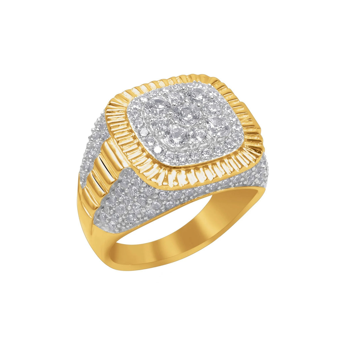 14K Yellow Gold Oracle Ring