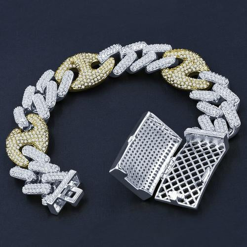 18mm Stainless Steel Cuban Bracelet