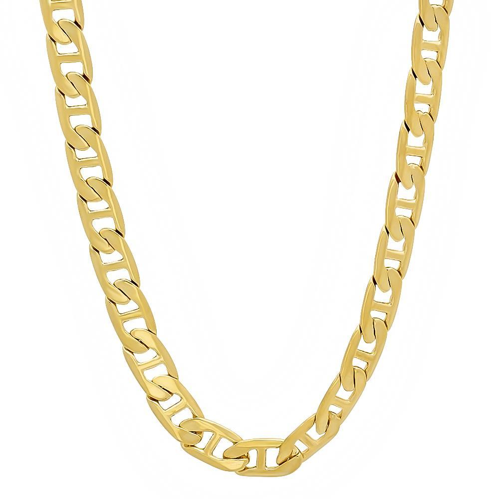 14K Yellow Gold Plated Classic Gucci Chain