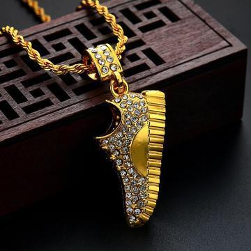 MICRO DIAMOND SNEAKER NECKLACE