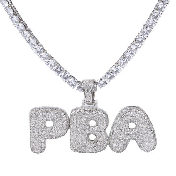 CUSTOMIZED NAME NECKLACES (GOLD OR SILVER, UP TO 9 LETTERS)